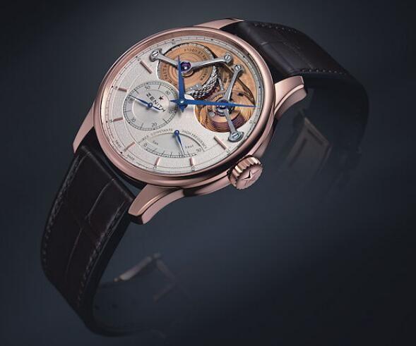 真力时推出Academy Georges Favre-Jacot 150周年纪念手表