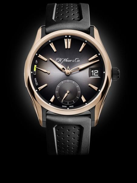 亨利慕时(H.MOSER&CIE.)推出亲民运动万年历手表