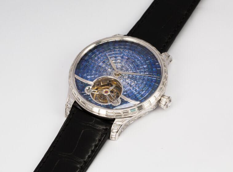 亨利慕时(H.MOSER&CIE.)冒险者陀飞轮腕表新添珠宝款