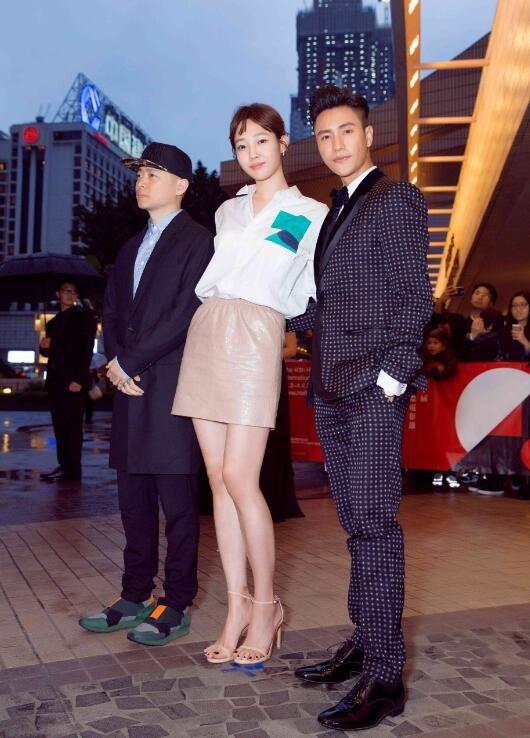 陈坤佩戴名士克里顿系列亮相香港电影节