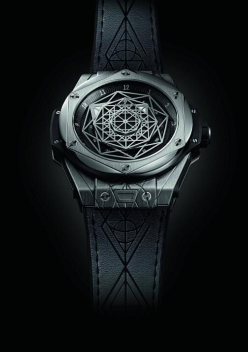 宇舶表推出Big Bang Sang Bleu刺青腕表