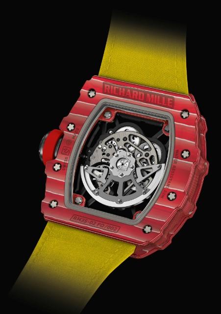 RICHARD MILLE发布新款RM 35-02拉斐尔·纳达尔腕表