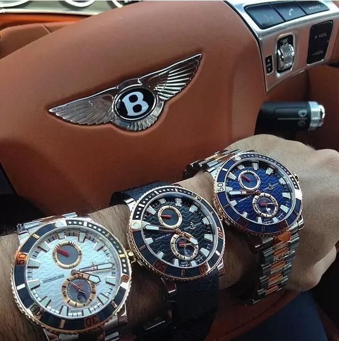 戴着这些手表上街,简直就是戴了一辆车在手上啊!