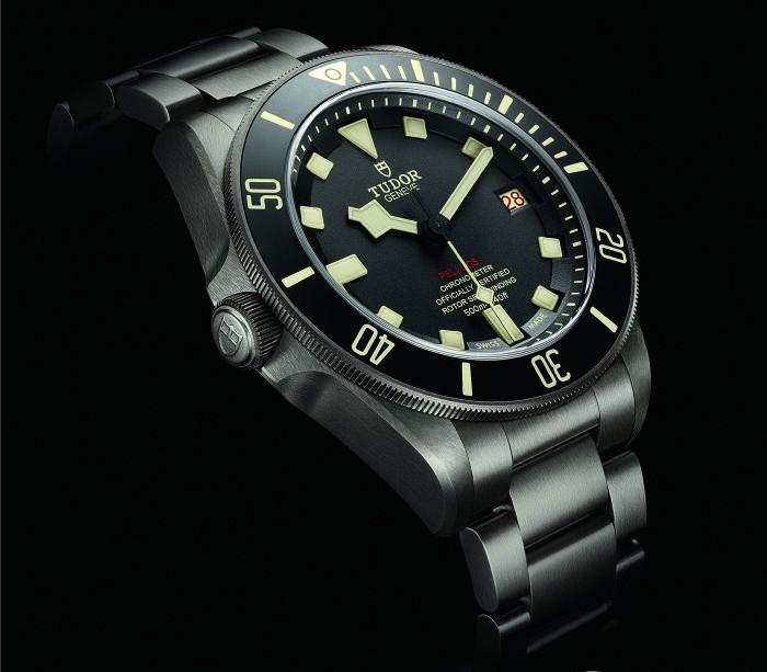 """帝舵领潜型专业潜水腕表正式推出""""左撇子""""款式——帝舵领潜型LHD"""
