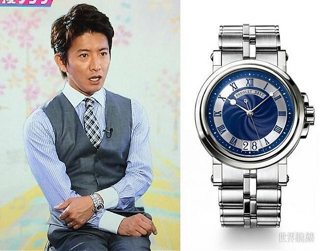 日剧大神木村拓哉私人最爱的两款腕表