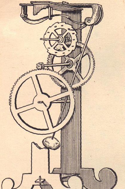 近代西方的机械钟表是在明末时期传入中国的