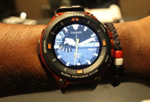 卡西欧智能手表