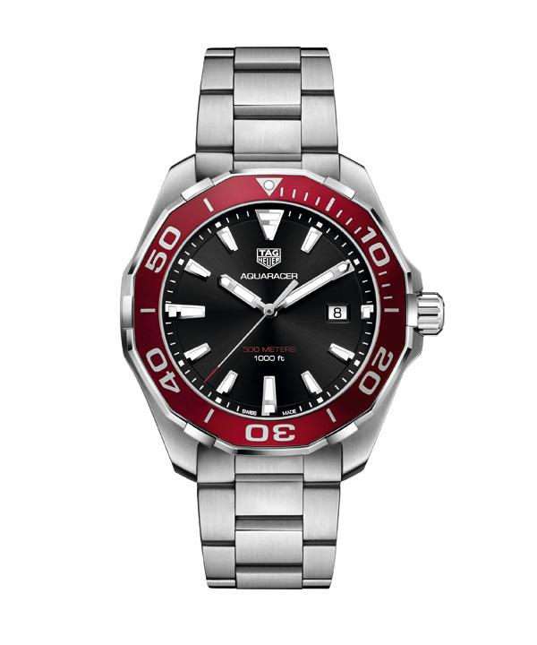 泰格豪雅全新Aquaracer 竞潜300米系列腕表