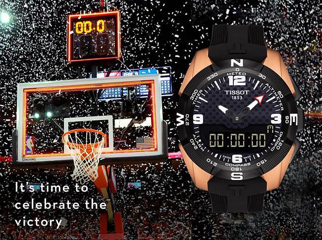 这一刻 该你上场 天梭表助力NBA全明星周末献上视觉饕餮盛宴;TISSOT;天梭表
