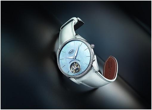 帕玛强尼Tonda 1950超薄飞行陀飞轮腕表浪漫献礼;Parmigiani;帕玛强尼;手表;腕表