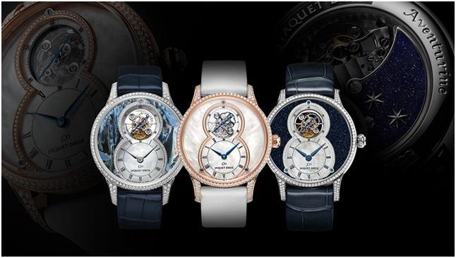 当Jaquet Dorz雅克德罗陀飞轮邂逅美石表盘,迸发惊艳光芒;Jaquet Dorz;雅克德罗;手表;腕表