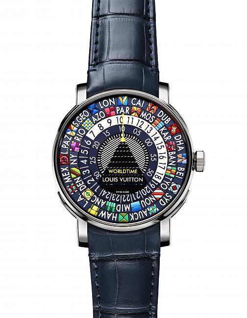 路易威登 ESCALE WORLDTIME BLUE蓝色世界时腕表;LOUIS VUITTON;路易威登