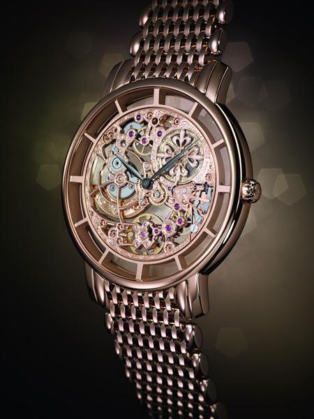 巴塞尔新品:百达翡丽镂空腕表