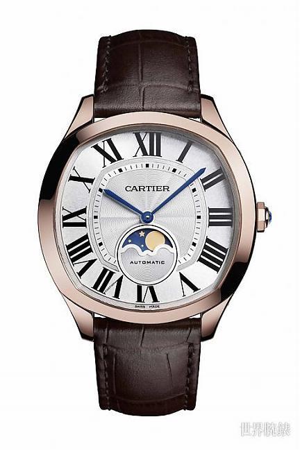 型男的优雅之道 卡地亚Drive de Cartier月相腕表;Drive de Cartier;月相;谢霆锋;CARTIER;卡地亚