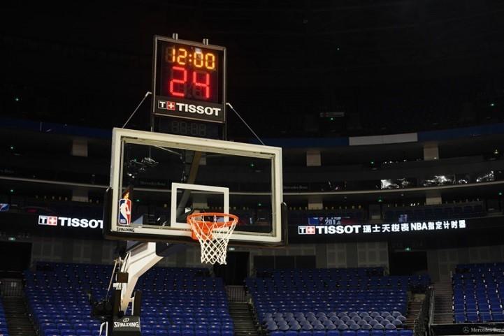 这一刻 燃情开战 天梭表以精准计时点燃NBA全新赛季