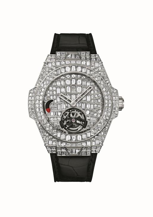 宇舶表推出BIG BANG 珠宝巨鳄陀飞轮腕表