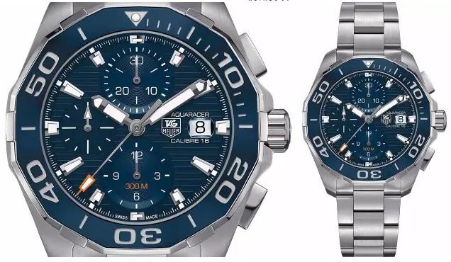 人们对于蓝色大海的追求从未停止,一款可靠的潜水腕表无疑是水下作业的可靠伴侣。这款腕表兼具动感外形和卓越性能,防水深度达500米。腕表表壳直径42毫米,厚度13.30毫米,由精钢打造而成。表壳上使用绚丽神秘的蓝色表盘和表圈。而且这款腕表采用的是橡胶表带,很适合夏天运动、游泳等活动了。