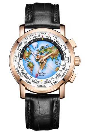 柏高珐琅手表,大师制造