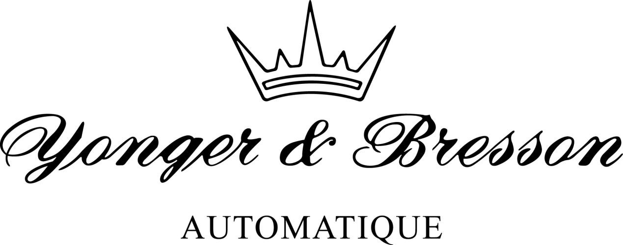 说明:logo YB automatique