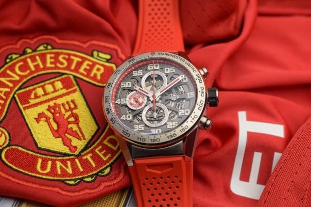 英超开赛了!泰格豪雅推出曼联全新特别版手表