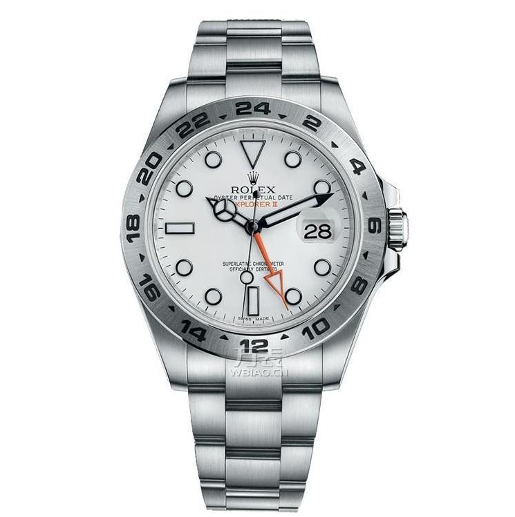 劳力士手表价格图片_这里有两款劳力士探险家型II系列腕表