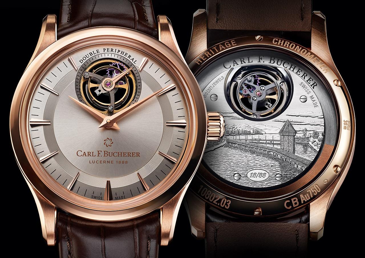 130年至臻工艺铸就璀璨未来 宝齐莱隆重推出传承系列双外缘陀飞轮腕表限量款,为品牌庆生