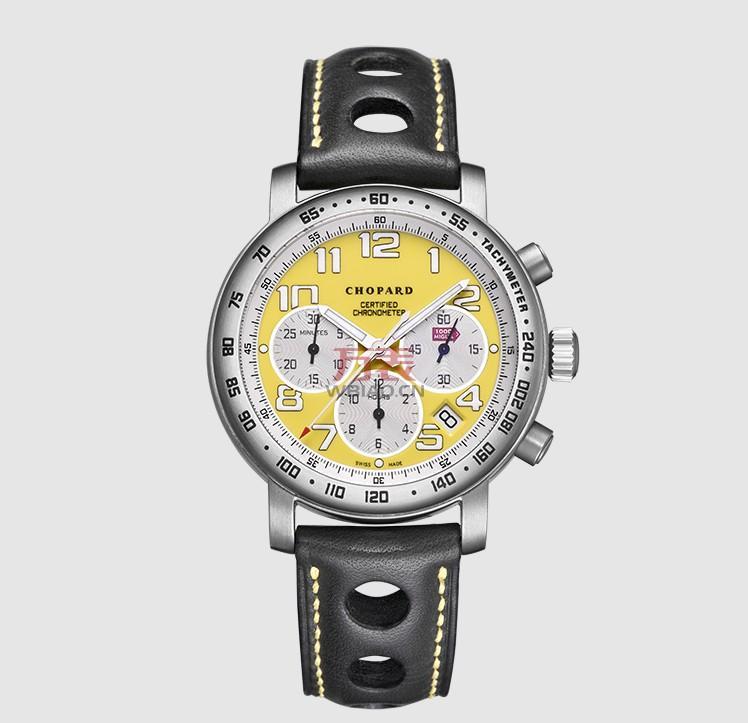 一只向赛车致敬的手表,萧邦赛车系列168915-3007机械男表