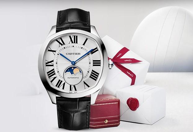 戴上卡地亚情侣手表,让情侣生活更加紧密