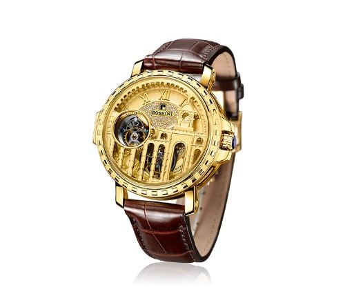 罗西尼的陀飞轮手表迷倒了一大片表迷?它到底有什么特色