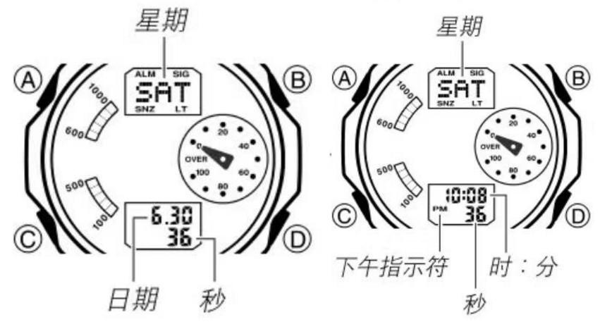 卡西欧手表四个键功能,如果你还不会,快来学一学吧!