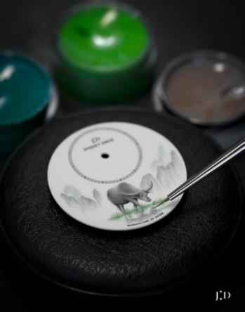 雅克德罗推出四款生肖牛主题限量腕表献礼中国新年 资讯 第6张