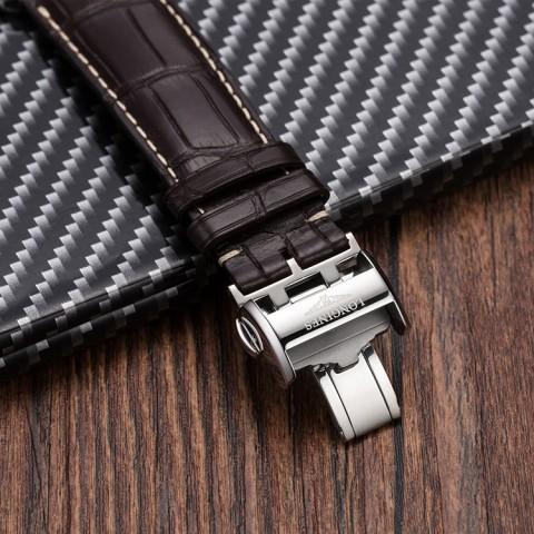 浪琴皮表带怎么做的?浪琴皮表带的制作步骤 手表品牌
