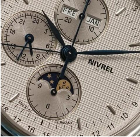 月相显示腕表怎么调节?尼芙尔月相调节方法 手表维修